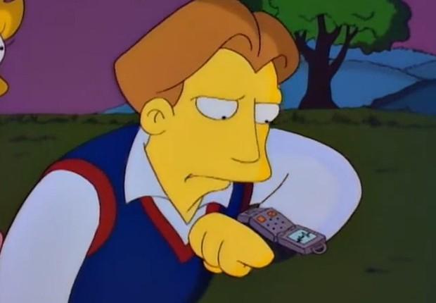 Simpsons smartwatch (Foto: Reprodução)