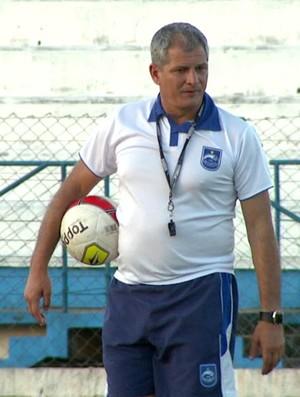 Técnico Fahel Júnior, do Rio Claro (Foto: Reprodução / EPTV)