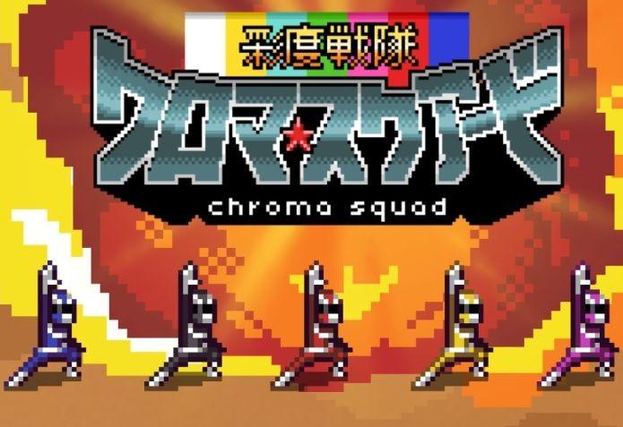 Chroma Squad sofreu ameaça de processo (Foto: Divulgação)