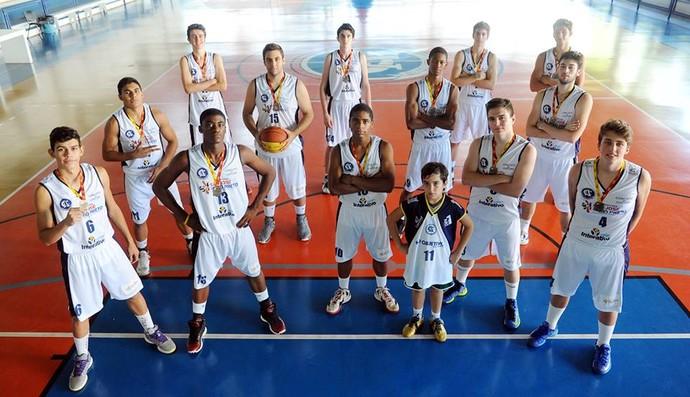 Jogadores do Rio Preto treinados por Renato Dario (Foto: Reprodução)