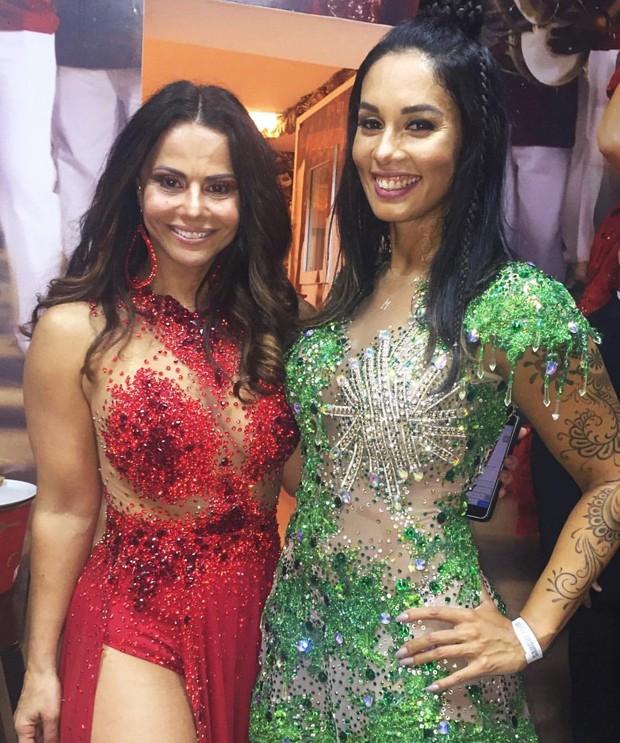 Viviane Araújo e Milena Nogueira (Foto: Divulgação: Reprodução Instagram/ Palmer Assessoria de Comunicação)