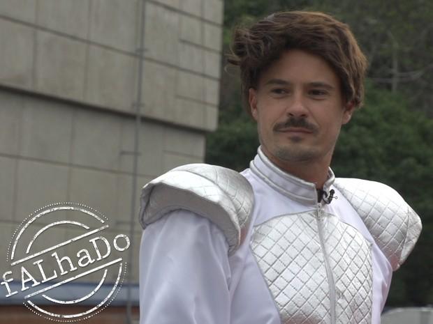 Paulo Vilhena em Ato Falho (Foto: Ato Falho / TV Globo)
