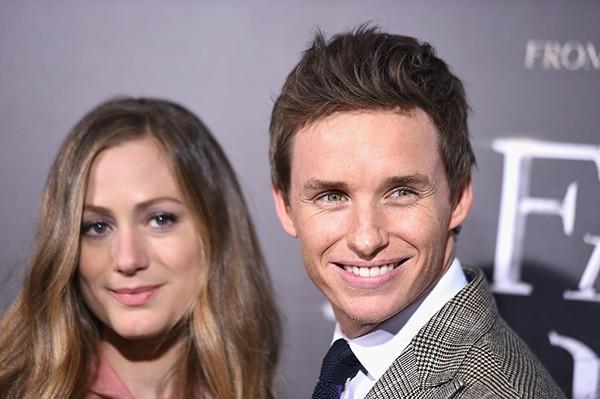 Eddie Redmayne e Hannah Bagshawe (Foto: Getty Images)