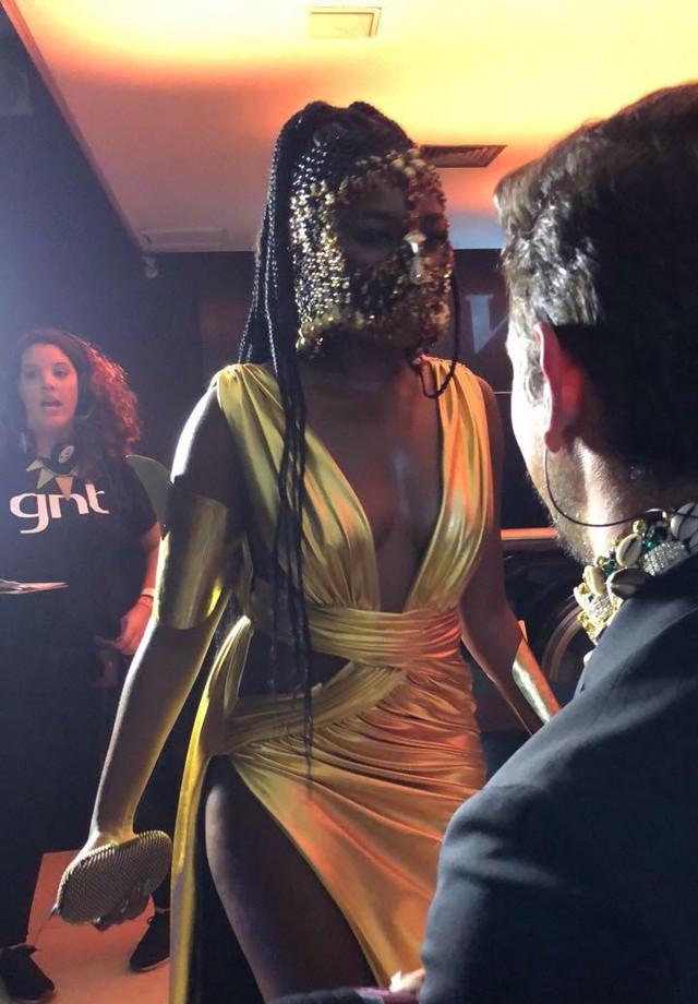 Iza (Foto: Vogue Brasil)
