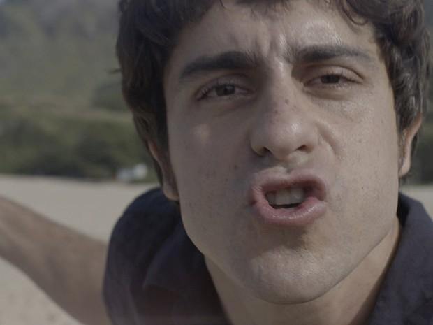 Ernesto Avelar destila o seu ódio a Jonas Marra (Foto: Fato na Rede)
