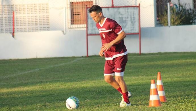 Michel Cury - meia do América-RN (Foto: Canindé Pereira / Divulgação)