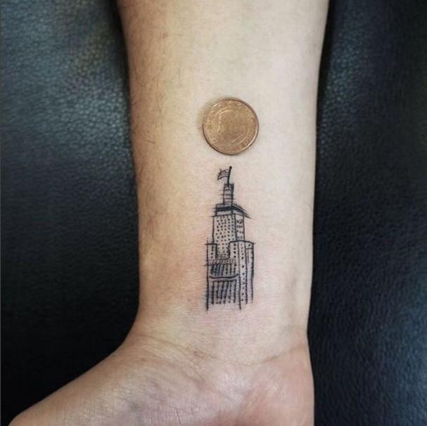 Tatuagens delicadas para o pulso! (Foto: Reprodução/Instagram)