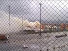 Bombeiros conseguem controlar fogo em terminal portuário do Guarujá
