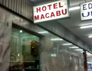 Hotel Macabu fica no Centro de Barra Mansa (Foto: Cristiane Mendes/GloboEsporte.com)