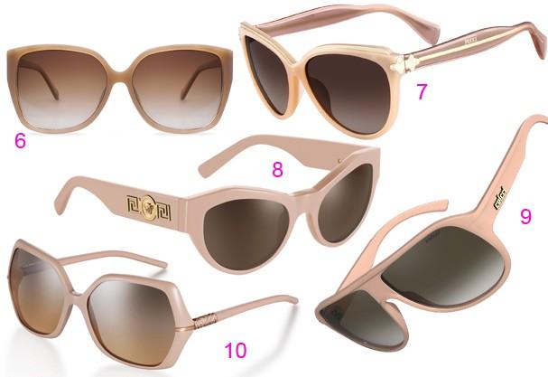 Visão neutra  os óculos de sol da próxima temporada são nude ... ac00cd4eeb