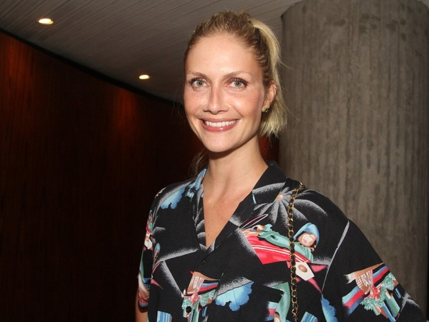 Ana Claudia Michels em evento de moda em São Paulo (Foto: Thiago Duran/ Ag. News)