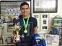 """Do desemprego ao título: Felipe vibra com """"ressurgimento"""" no futebol"""
