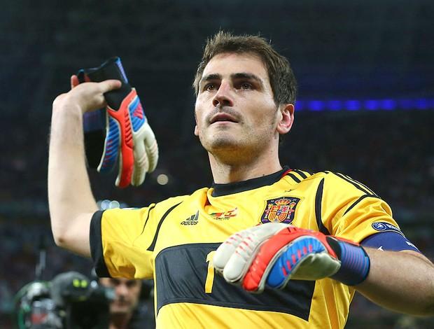 Casillas, Espanha x Portugal (Foto: Agência Getty Images)