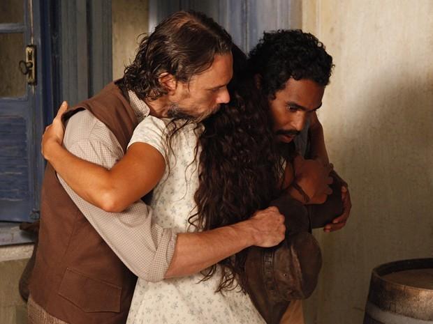 Clemente pede Gabriela em casamento, mas ela nega (Foto: Divulgação/TV Globo)