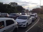 Cerca de 60 mil carros devem deixar  a capital durante o feriadão, diz PRF