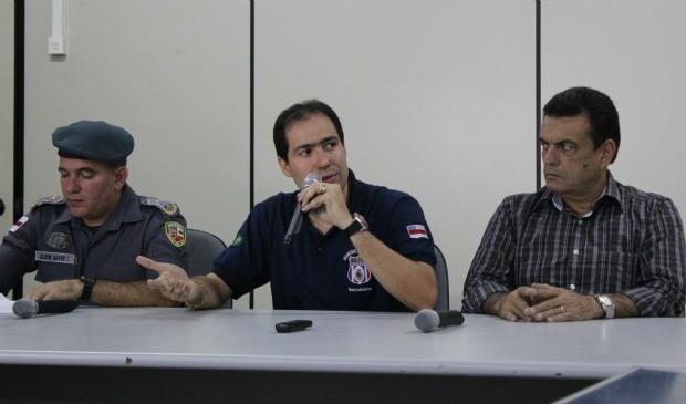 Wesley Aguiar explica como aconteceu a fuga no Ipat, em Manaus (Foto: Girlene Medeiros /G1 AM)