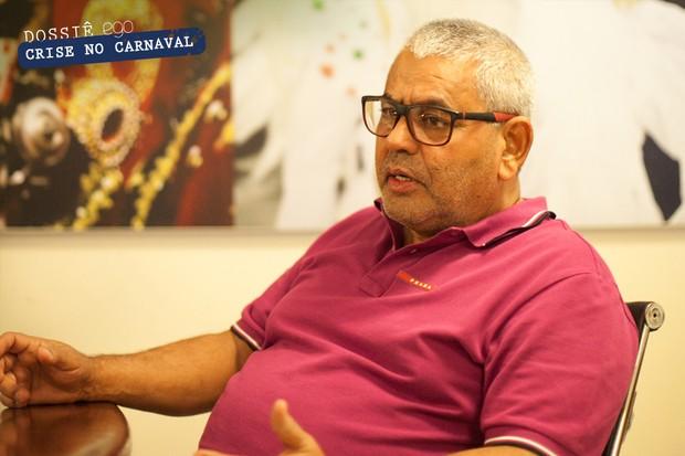 Jayder Soares, presidente da Grande Rio (Foto: Anderson Barros / Ego)
