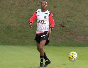 Robinho, atacante do Atlético-MG (Foto: Reprodução / TV Globo Minas)