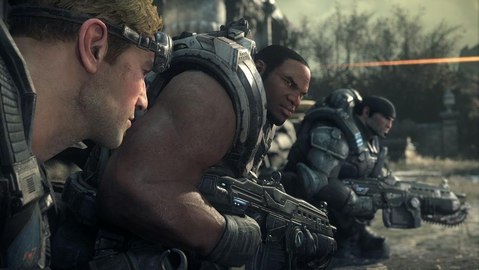 Gears of War é recheado de mortes violentas (Foto: Divulgação/Microsoft)