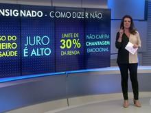 Aposentado: saiba como dizer 'não' aos pedidos de empréstimo  (Reprodução/TV Globo)