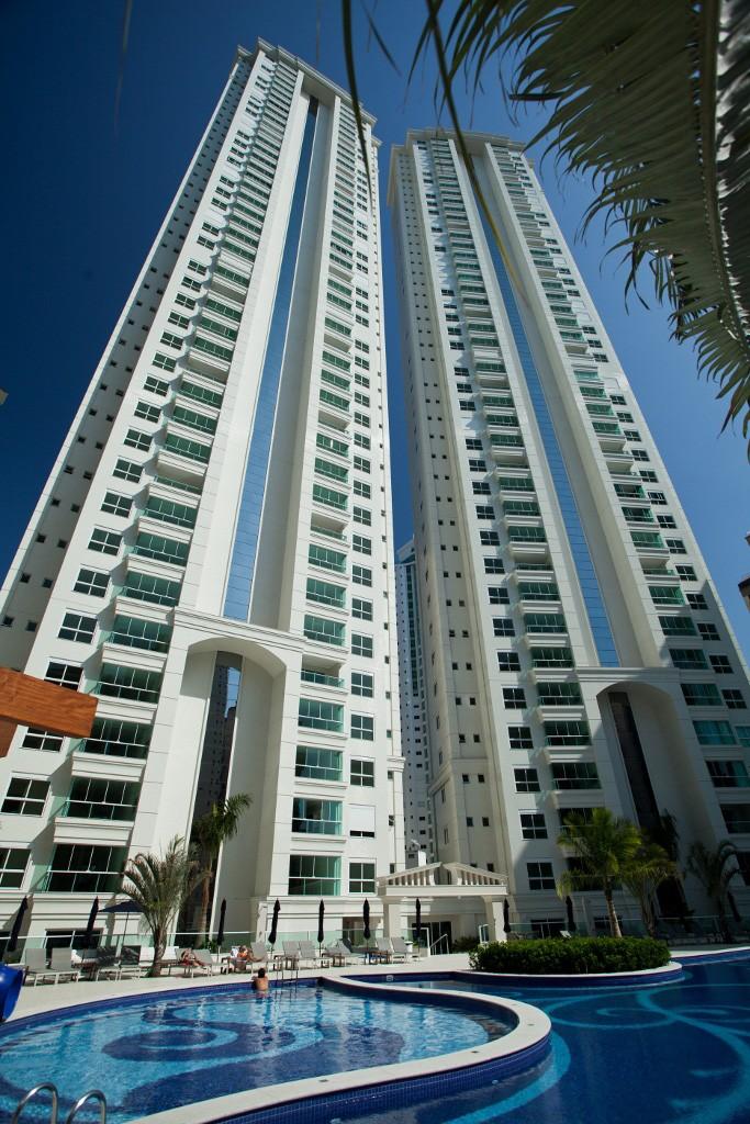 Prédio tem 160 metros de altura (Foto: Embraed/Divulgação)