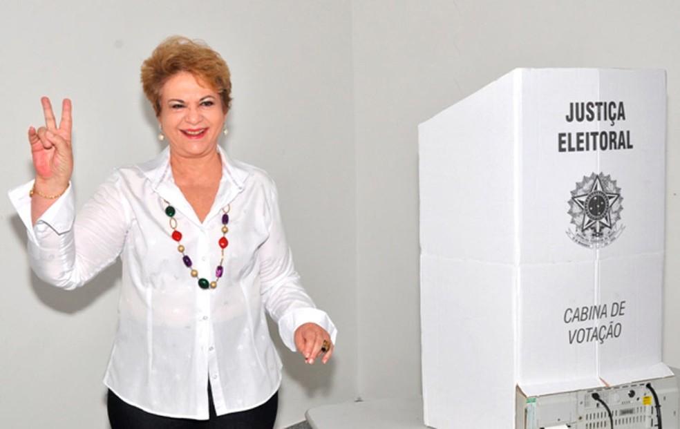 Ex-governadora Wilma de Faria, que é atualmente vereadora, foi citada nas delações da Lava Jato (Foto: Laurivan de Sousa)