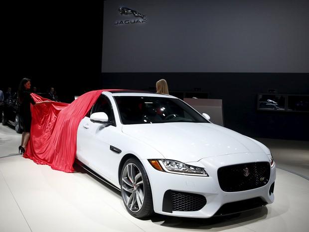 Jaguar XF entra em nova geração, com mais alumínio na carroceria (Foto: Shannon Stapleton / Reuters)