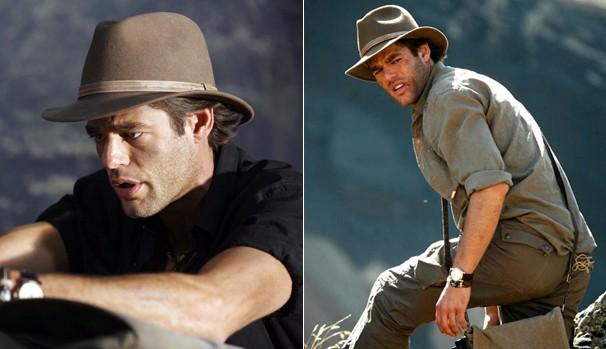 Ivan Sergei em 'Jack Hunter e o Olho do Enigma' (2008) e 'Jack Hunter e a Estrela do Paraíso' (2008)  (Foto: Divulgação/Reprodução)