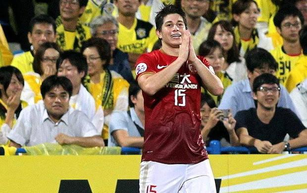 Conca Guangzhou Evergrande gol Kashima Reysol (Foto: Reprodução / Facebook)