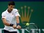 Djokovic passa batido por Pospisil e avança às quartas de final em Xangai