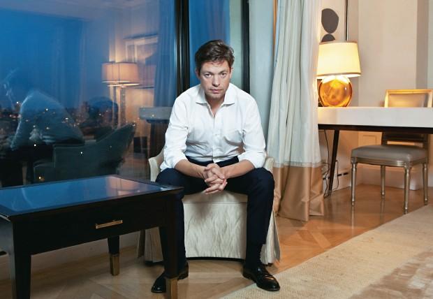 EUA E CHINA O financista e investidor Nicolas Berggruen.  Ele propõe um intercâmbio entre Oriente e Ocidente (Foto: JB Reed/Bloomberg/Getty Images)