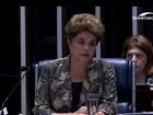 Após discurso de defesa, Dilma é interrogada pelos senadores