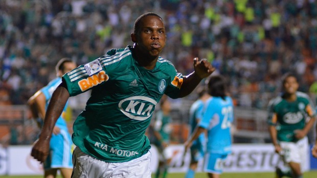 Patrick Vieira gol palmeiras (Foto: Levi Bianco / Ag. Estado)