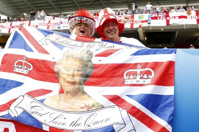 Inglaterra x País de Gales (Foto: Reuters)