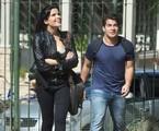 'Pega pega': Vanessa Giácomo e Thiago Martins em cena | TV Globo