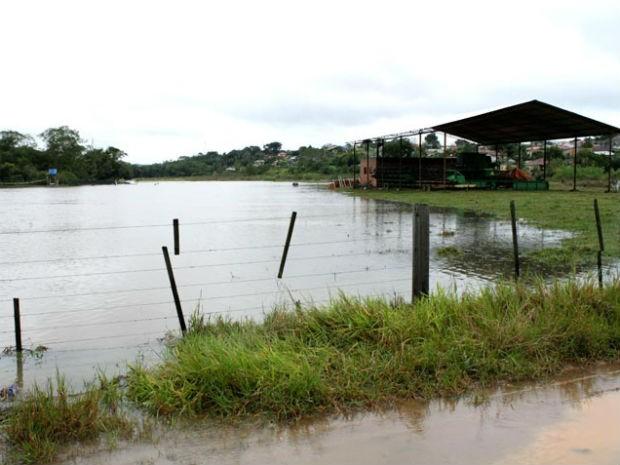 Prefeitura de Tibagi decretou situação de emergência no município, que fica na região central do Paraná, na tarde desta quarta-feira (26) (Foto: Christian Camargo / Prefeitura de Tibagi)