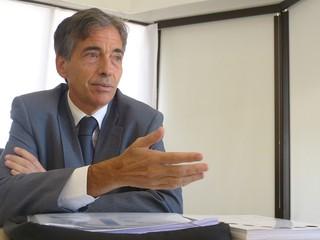 Luís Fernandes secretário-executivo do Ministério do Esporte (Foto: Vicente Seda)