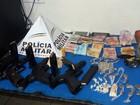 Grupo é detido com drogas e armas durante operação em Juiz de Fora
