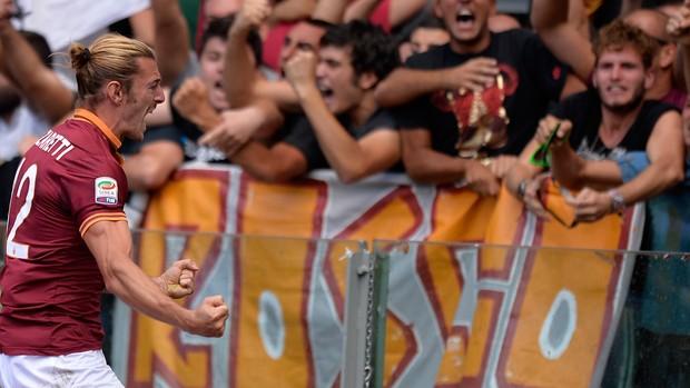 Balzaretti roma x lazio (Foto: AFP)