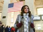 Bruna Marquezine mostra os bastidores das primeiras cenas gravadas em Nova York