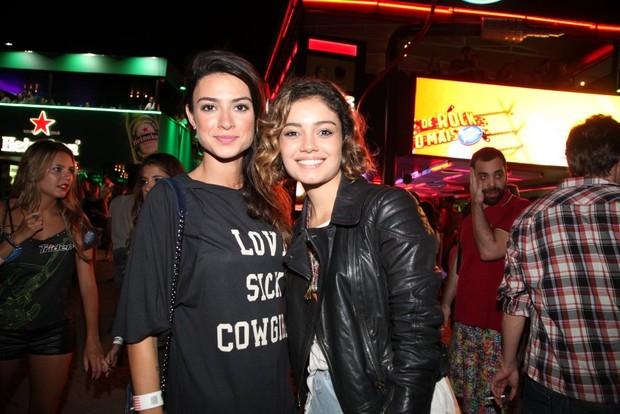 Thaila Ayala e Sophie Charlotte (Foto: Claudio Andrade / Foto Rio News)