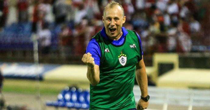 Ailton Silva, técnico do Itabaiana (Foto: Ailton Cruz/Gazeta de Alagoas)