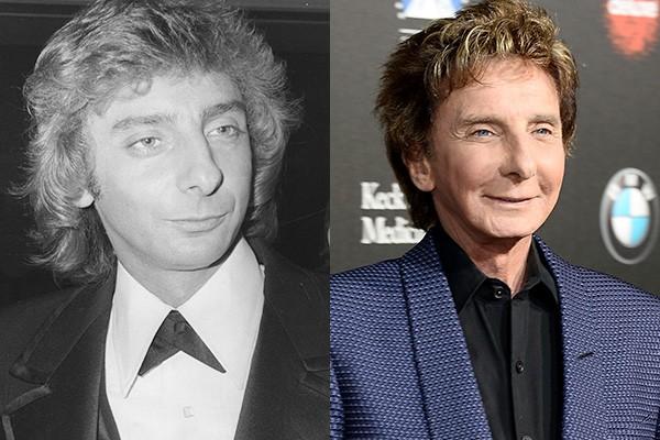 Os rumores são de que Barry Manilow já fez vários procedimentos. Desde o início de sua carreira, o cantor já teria injetado botox e feito cirurgia nas pálpebras dos olhos.  (Foto: Getty Images)