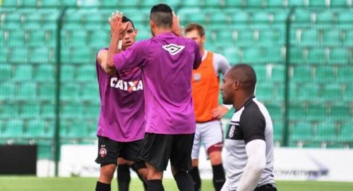 Figueirense x Atlético-PR jogo-treino (Foto: Assessoria de Imprensa/Clube Atlético Paranaense)