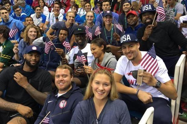 """""""Vai, Estados Unidos!"""" (Foto: Reprodução/Instagram)"""