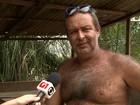 Agricultor dono de ilha diz que ficou sem renda após morte de animais