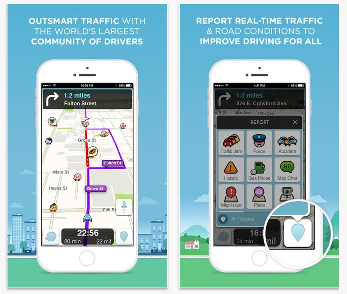Informações em tempo real são o ponto mais forte do Waze (Foto: Divulgação)