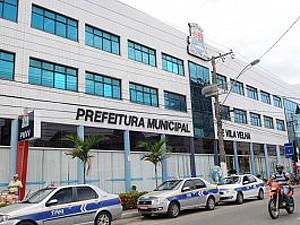 Prefeitura de Vila Velha (Foto: Carlos Alberto da Silva - A Gazeta)