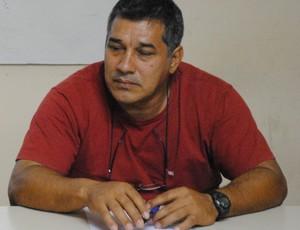 Presidente da Federação Acreana de Handebol, Sérgio Luiz (Foto: Wescley Camelo)