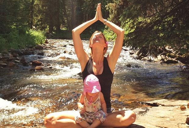 A MEDITAÇÃO ALIVIA O STRESS E TE AJUDA A PERDER CALORIAS (Foto: Reprodução/instagram)